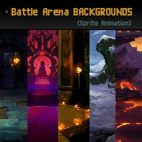 Battle Arena Backgrounds