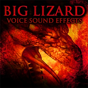 Big Lizard Voice Sound Effects is a premium package with 125 sound effects inspired by dragons and dinosaurs.