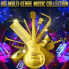Huge library of high quality music for a variety of genres. All at an incredibly low price.