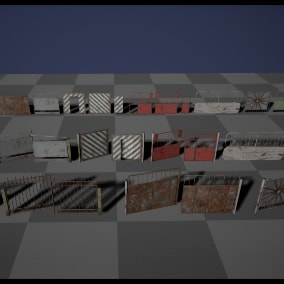 Hi-Quality gates for different realistic games