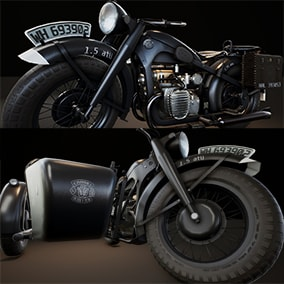 Game ready motorcycle