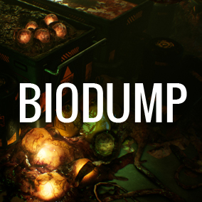 Biodump is perfect for sci-fi or horror projects.