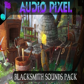 101 Quality SoundFX set in any type of sound you can find in a Blacksmith Shop