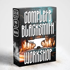 Complete Blacksmith Workshop Sound Pack Containing 139 Specifically Created wav Files and Audio Cues