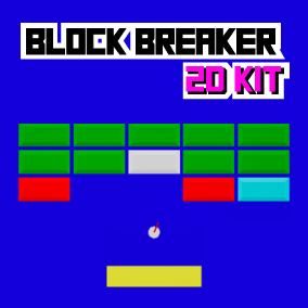 The Block Breaker 2D Kit is an easy to use template for creating Block Breaker type of games in 2D! The template is created using Blueprints, is fully documented and allows easy customization.