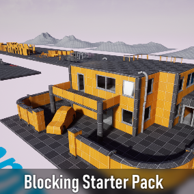 Contains 177 props and assets to facilitate the development of a project and create the blocking of your levels. Modular architecture, interact, lights, pipe, landscape mesh and vehicles.