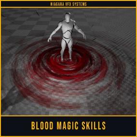 Blood Magic Skill Vfx Pack