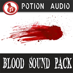 102 high-quality sound effects for blood