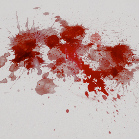 Blood Splashes Texture Collection