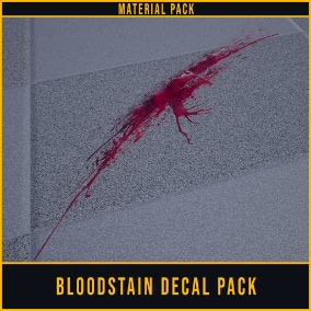Bloodstain Decal Material Pack