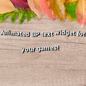 Spice up your dialogues with some animated text and add sound effects per letter.