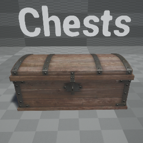 Full Blueprinted Chests With Working Pad Lock