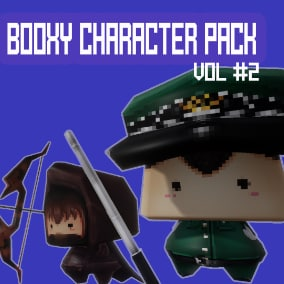 Booxy Character pack Vol 2 ready to use in your project!