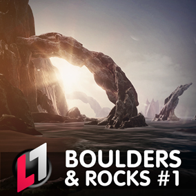 Boulders & Rocks - Stylized Nature Pack #1