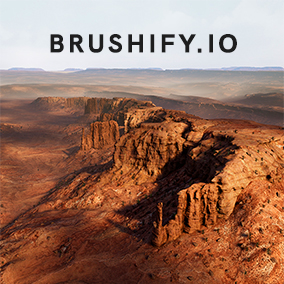 Create beautiful desert canyons with Brushify, a modular approach to environments. With a Landscape auto material, Multiple Biome support, Alpha brushes for terrain sculpting, high resolution meshes and 8k textures. All fully optimized for AAA games!