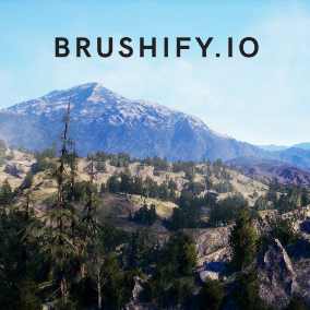 Realistic Modular Forest assets and ready-made environment. Includes Brushify Landscape Auto Material and other shaders