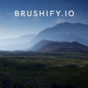 Build detailed grassy landscapes with these Meshes and Terrain Alpha Brushes.