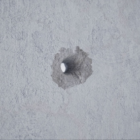 The Bullet Hole System implements realistic, see-through, three-dimensional bullet holes.
