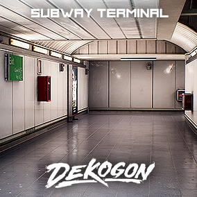 A modular subway terminal ready and optimized for game use!