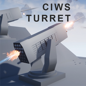 This Blueprint contains 3 types Turrets. These turrets are Close-In Weapon System Each turret is automatically search, track and attack enemy within attack range.