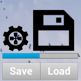 Auto Save and Load Actors into a compressed file. Just add a component to any Actor you want to save! Easy save variables, AI state, Widgets, etc. in Level Streaming or across multiple Levels.