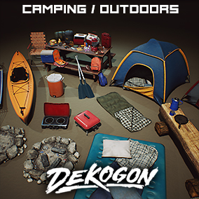 A Huge Collection of Camping Equipment, Outdoor Sporting Equipment, and Various Props