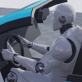 26 Hand made car interact animations!