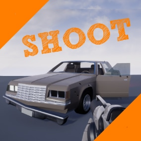 Adjustable Vehicle Destruction System by Bullets/Bricks (whatever you include)