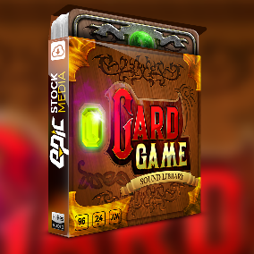 Create an outstanding fantasy card gaming experience with ESM's hottest new game sound effects library Card Game. Brings you the energy of online card gaming mixed with the epicness and adventure.