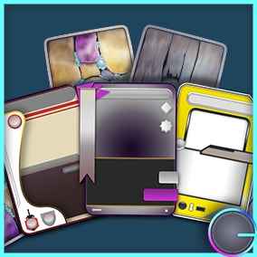 Want to make your own card game but don't want to design the cards? Then this pack is for you!
