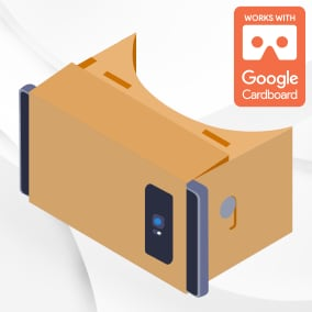 Support for Google Cardboard VR headsets on iOS and Android platforms, integrating the official Google Cardboard SDK.