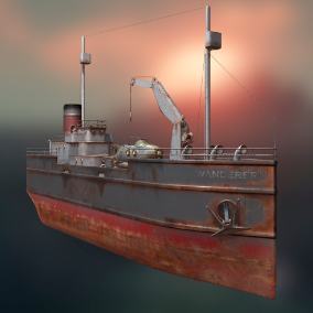 If you need a great ship for your adventure game, this model will do an excellent job.