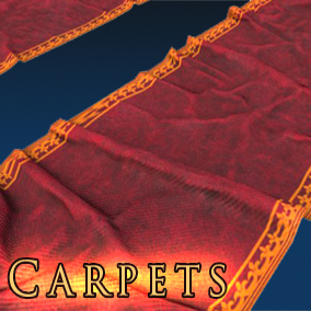 This package includes 10 different models of Carpets, Textured for PBR.