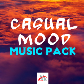 Music pack for creating casual games
