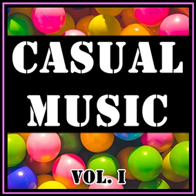 The Casual Music Vol. I pack focuses on fun, lively and uplifting music, perfect for simple puzzle and adventure games.