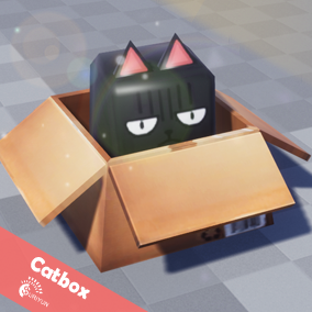 Catbox 3D  With 4 Animations.
