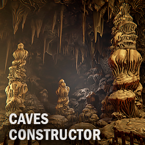 Here you find a lot of cave elements