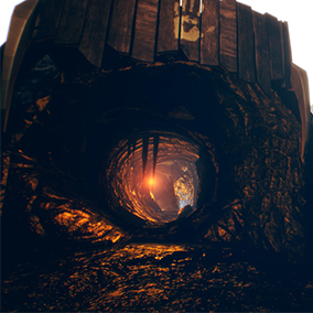 Create stylized low poly caves and environments in seconds