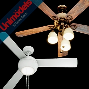 10 different models of ceiling fans