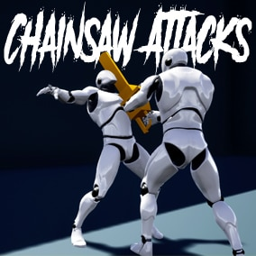 Collection of Chainsaw attacks and idles