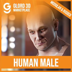 AAA quality character male head, with 4K textures, and fully rigged. Glord 3D is a digital media company that sells 3D models used in 3D graphics to a variety of industries, including computer games, architecture, and interactive projects.