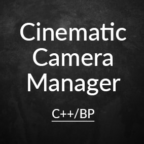 Player Camera Manager extensions to easily handle gameplay camera movements.