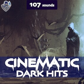A sound pack of cinematic sound effects of hits, designed in a dark style.