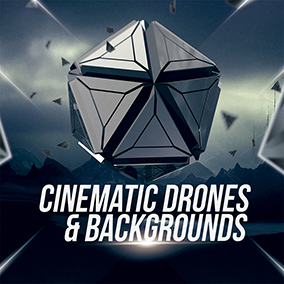 'Cinematic Drones & Backgrounds' by Cinematic Sound Design delivers a collection of background ambiances.