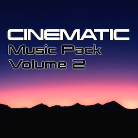 Cinematic tracks will help get your game off to a great start.