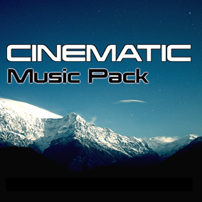 The Cinematic Music Pack is collection of 17 orchestral action packed thematic cues.
