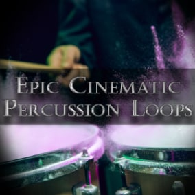 Dynamic loops with powerful percussions and aggressive drum beats.