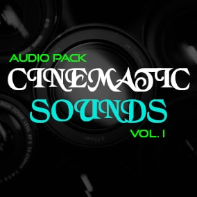 100+ High quality audio for your cinematic!
