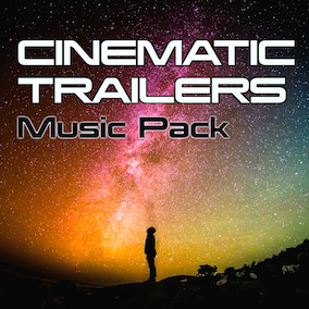 This brand new collection of Cinematic Trailer music and loops is sure to add dramatic flair to your game and/or trailer.