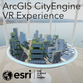 Unreal Engine 4 project template to create VR experiences for collaborative exploration of ArcGIS CityEngine architecture and ArcGIS Urban planning scenarios.